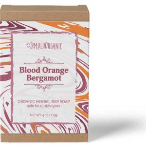 Blood Orange Bergamot - Scented Organic Bar Soap