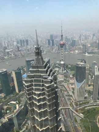 View from Shanghai WFC
