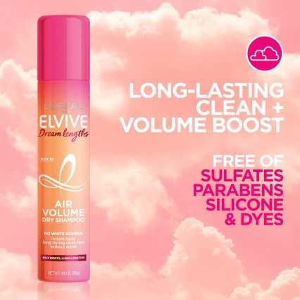 L'Oreal Paris Elvive Dream Lengths Air Volume Dry Shampoo