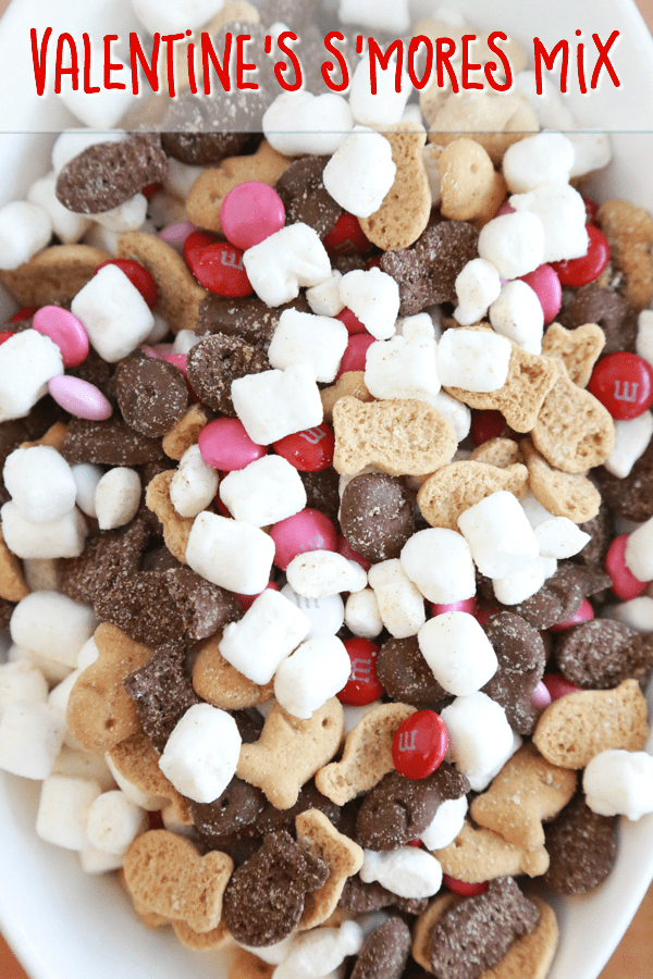 Valentines Smores Mix Simply Being Mommy