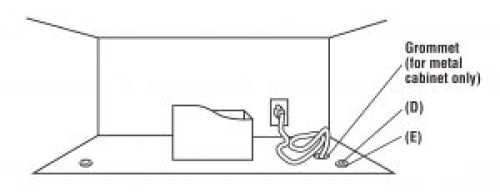 Figure 17 - How to Install an Over-the-Range Microwave Oven