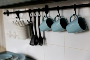 hanging coffee cups