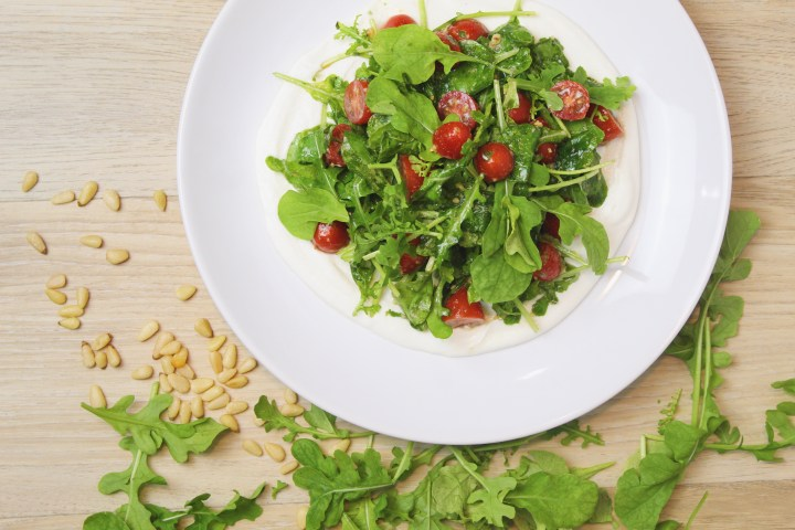 Whipped Ricotta and Arugula Salad