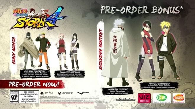 Naruto Storm 4 special edition
