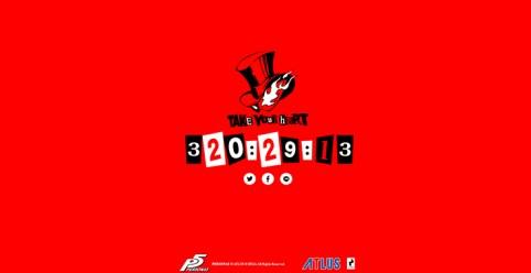 Persona 5 JP Release date