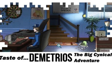 """Photo of """"Demetrios"""" Definitely Delivers on a BIG Cynical Adventure!"""