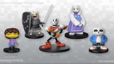 Photo of You Can Pre-Order These Undertale Figurines On Fangamer Today!