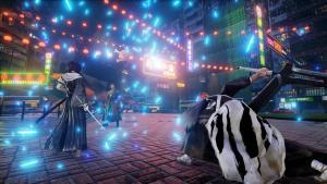 Jump Force Ichigo and Rukia vs Zoro