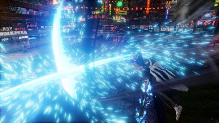 Jump Force Getsuga Tenshou