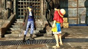 Sabo and Luffy Meet