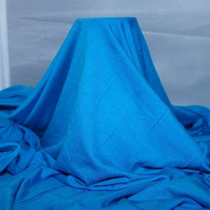 Turquoise Rayon Spandex