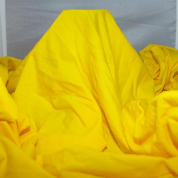 Yellow Rayon Spandex