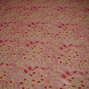 Fuchsia Two Tone Lace