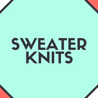 Sweater Knits