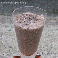 Chocolate chia poudding