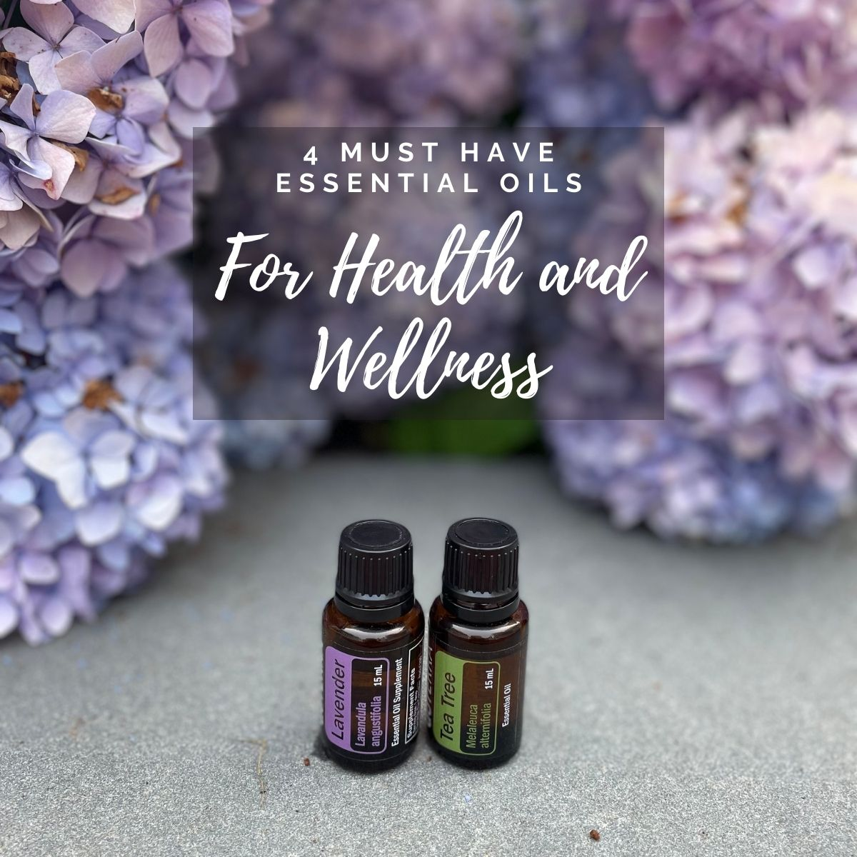 4 must have essential oils for health and wellness image