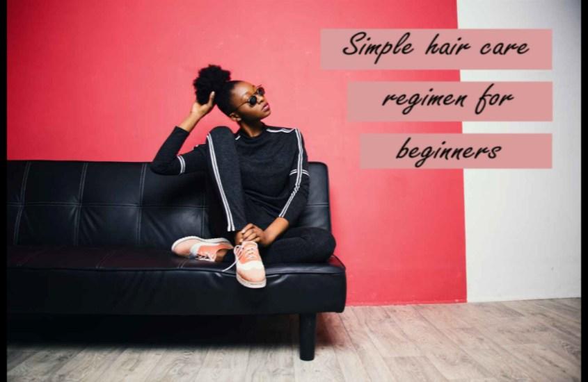 Transitioner tips: Starting Off Simple,  Simple Natural Hair Regimen