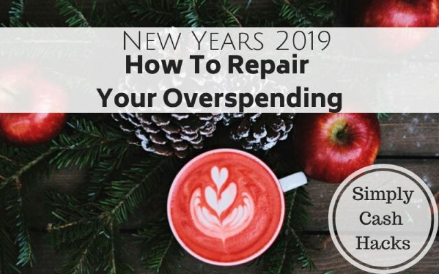 New Years 2019: How To Repair Your Overspending