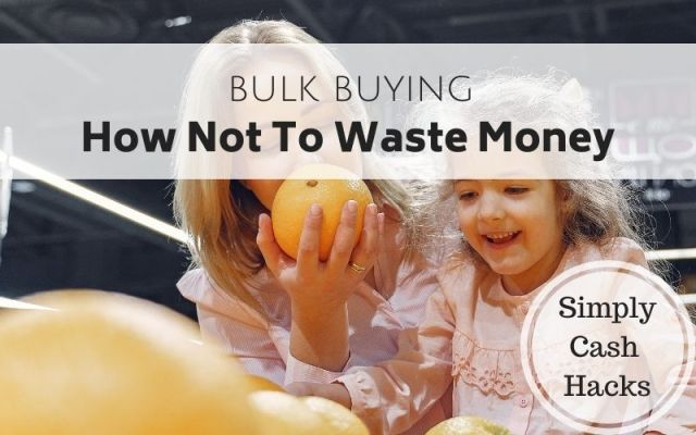 Bulk buying: how not to waste money