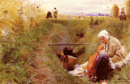 Our Daily Bread - 	 Anders Zorn