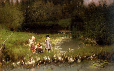 Picking Blossoms - Emily Claus