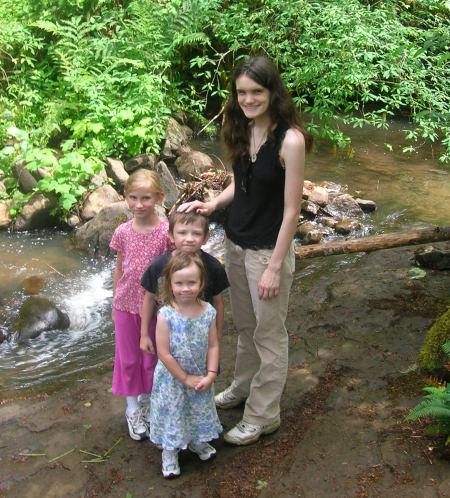 The kids enjoyed the hike