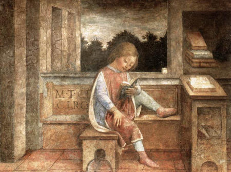 Vincent Foppa - The Young Cicero Reading