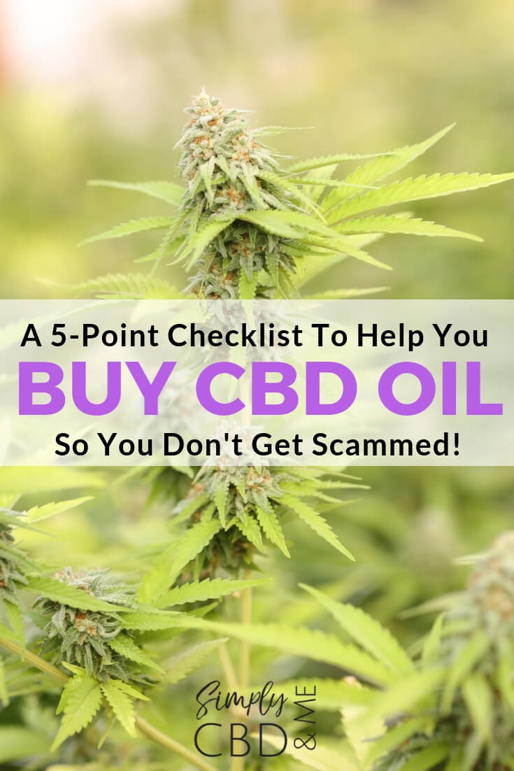 5-Point Checklist on What To Watch Out for when Buying CBD Oil so you Don't Get Scammed