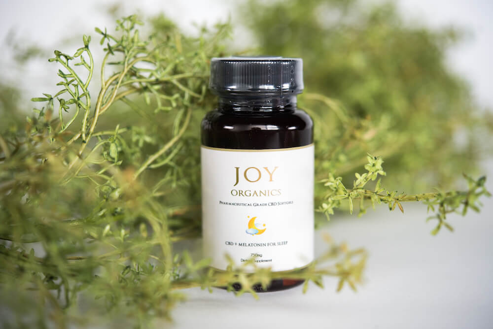 Joy Organics Full Spectrum Nanoemulsified CBD Softgels