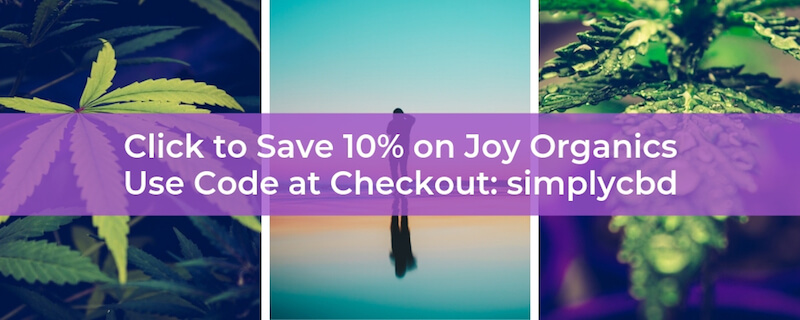 Shop Joy Organics and save 10% using code simplycbd at checkout