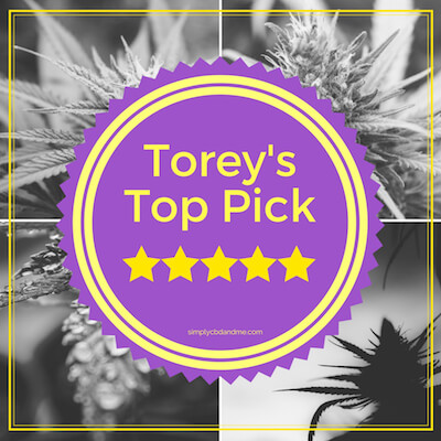 Torey's Top CBD Oil Pick