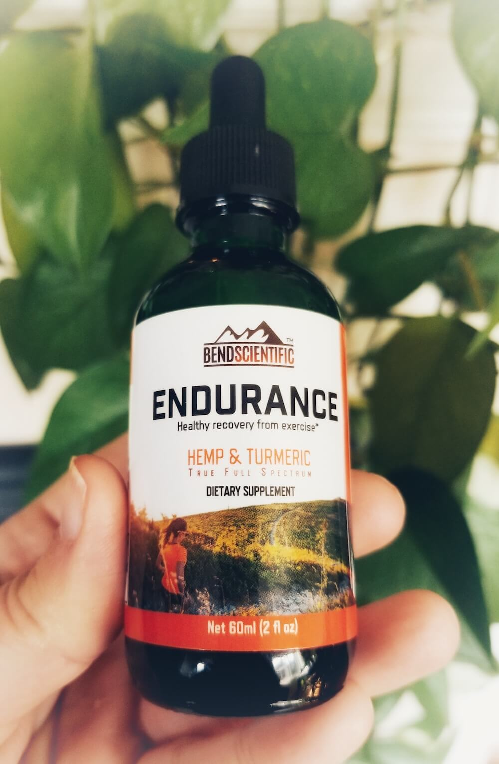 Endurance Hemp Extract Oil from Bend Scientific