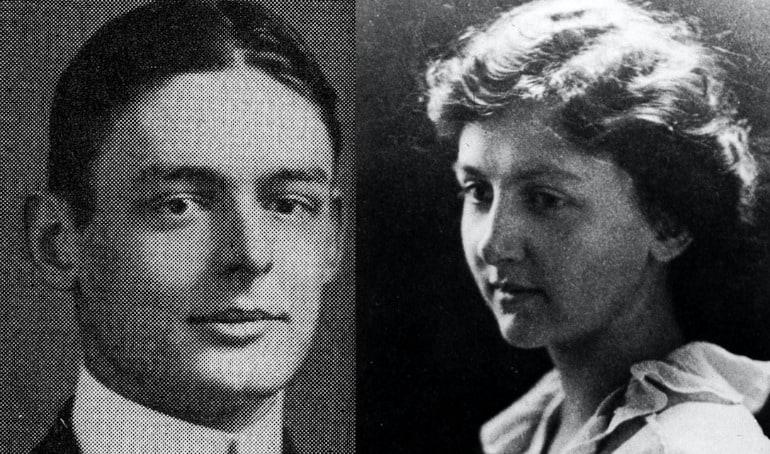 T.S. Eliot and Emily Hale as Harvard undergraduates