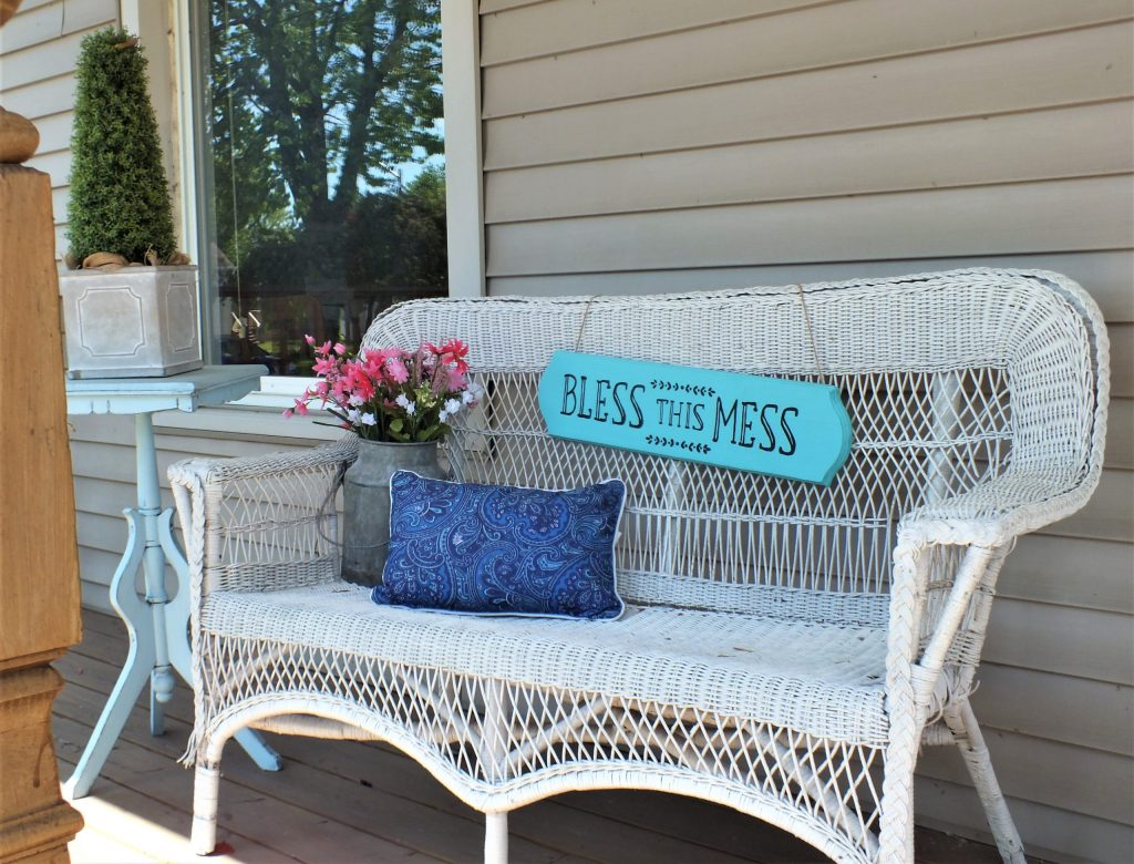 bless this mess sign svg