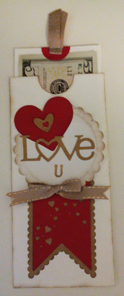 Valentine Money Envelope 1