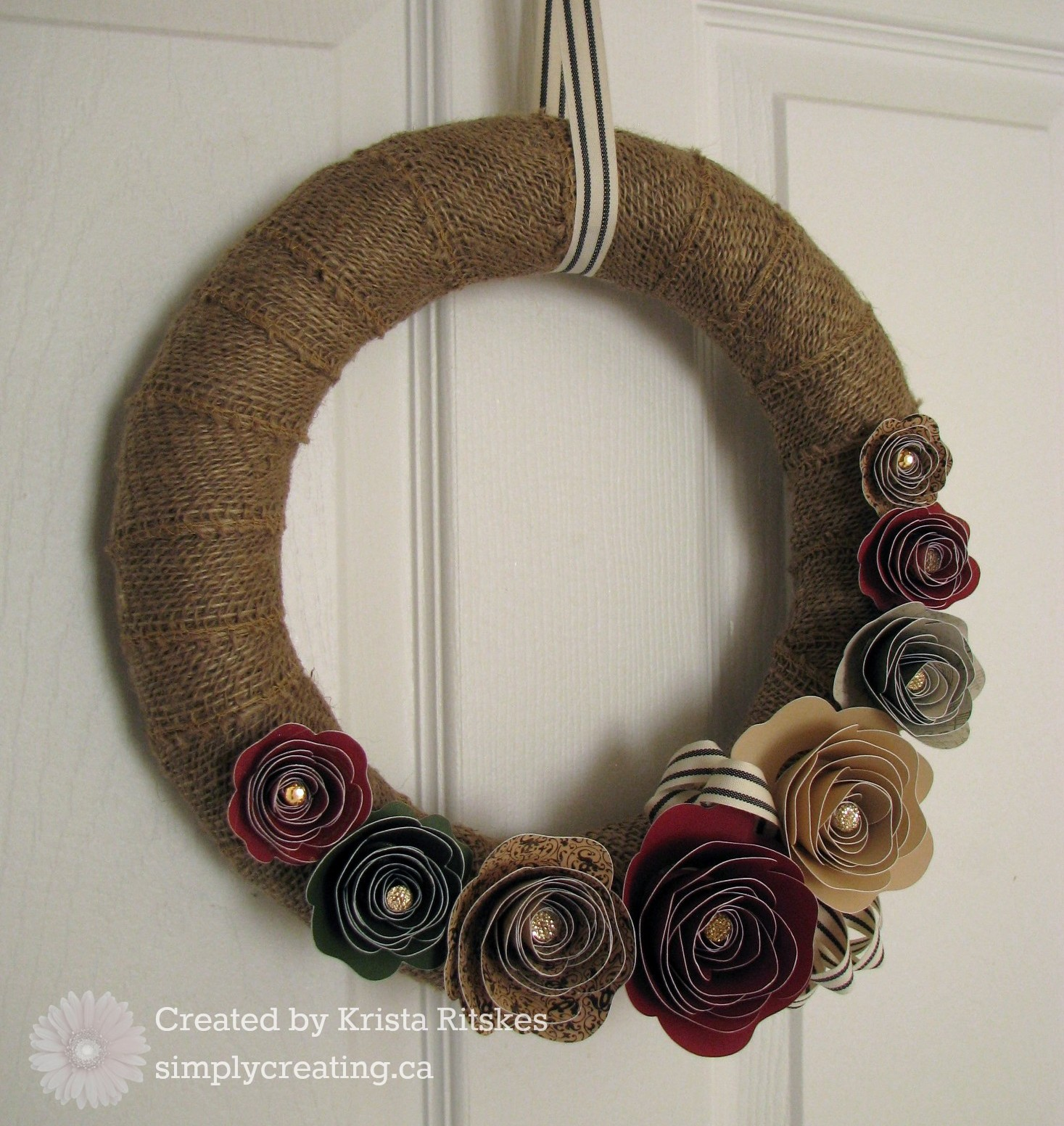 Yuletide Carol Wreath