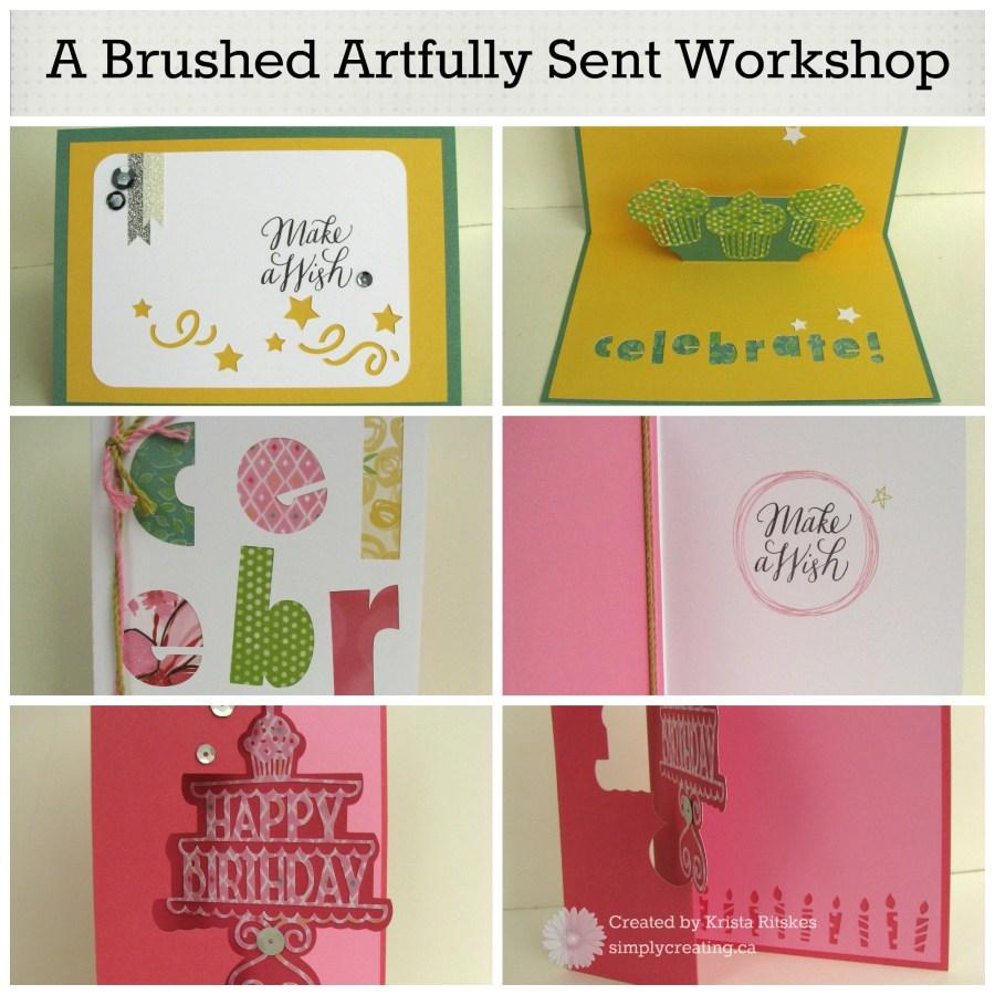 Brushed Artfully Sent workshop