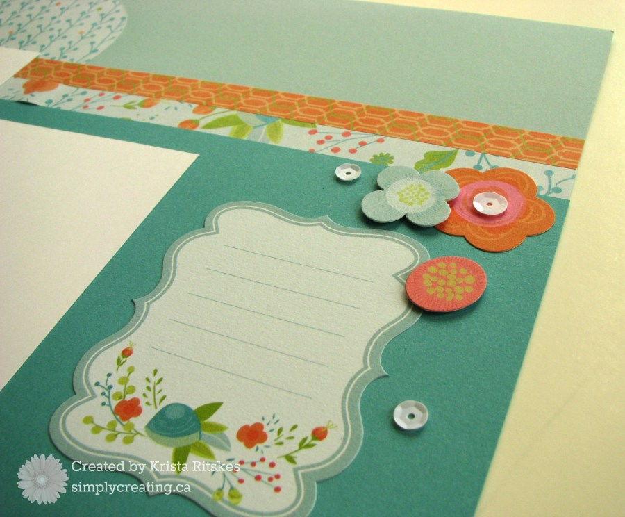 Blossom Layout 3 close up right