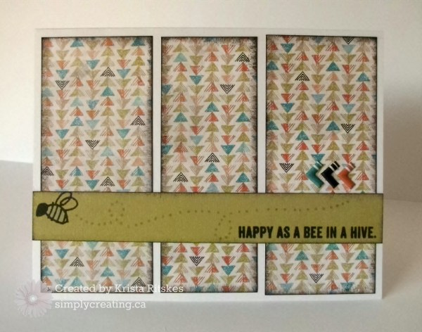 Happy as a Bee card krista_ritskes