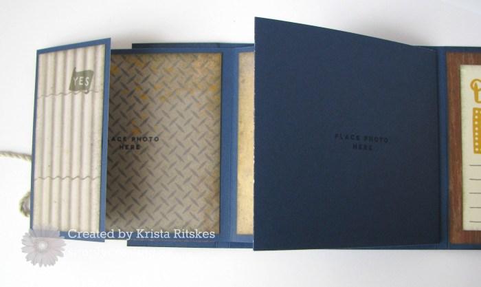 nov sotm mini album by Krista Ritskes, insic