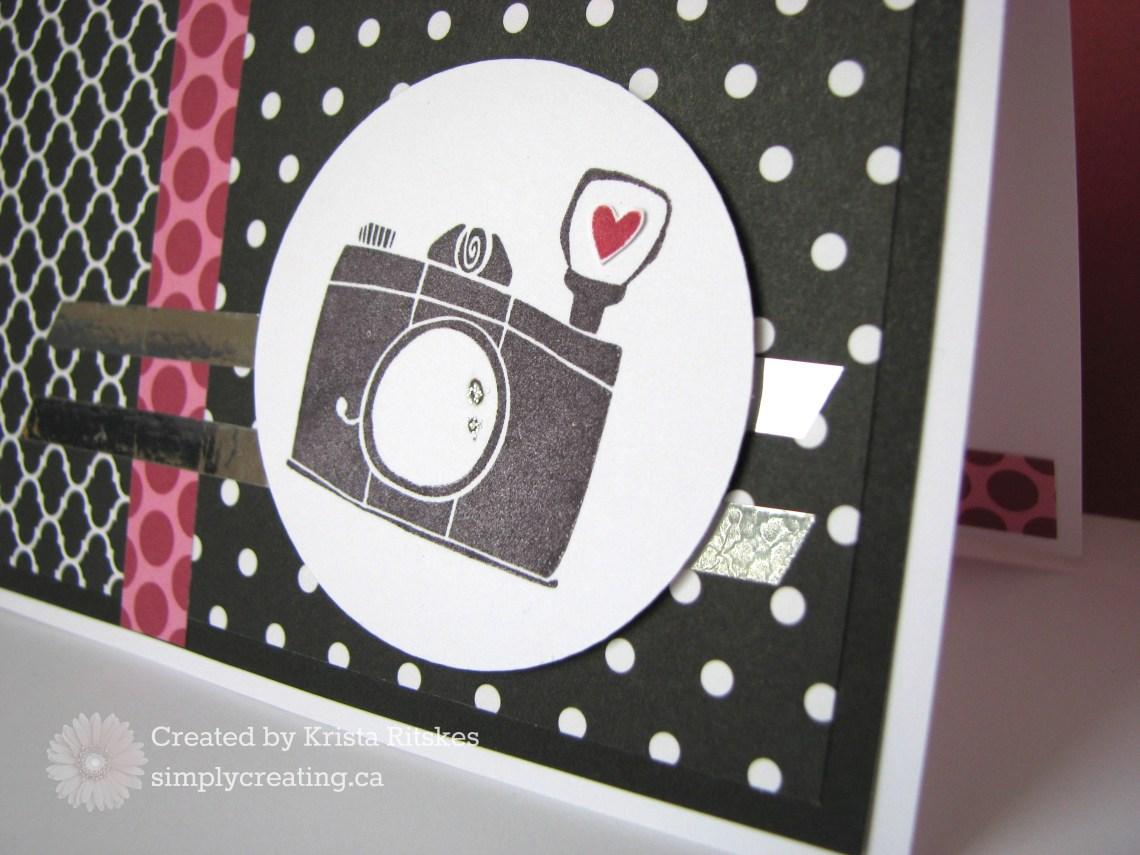 Atlantic Hearts: La Vie En Rose close up card by Krista Ritskes #simplycreating