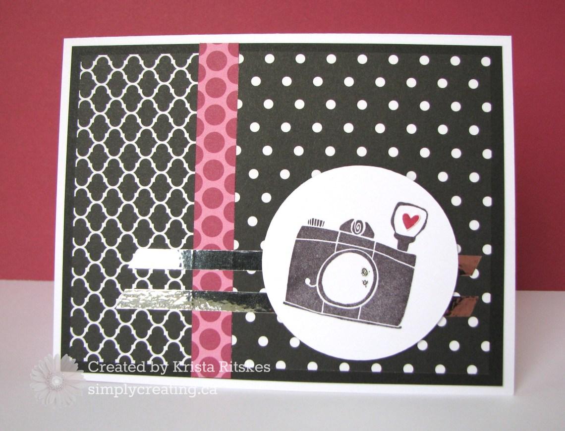 Atlantic Hearts: La Vie En Rose card by Krista Ritskes #simplycreating