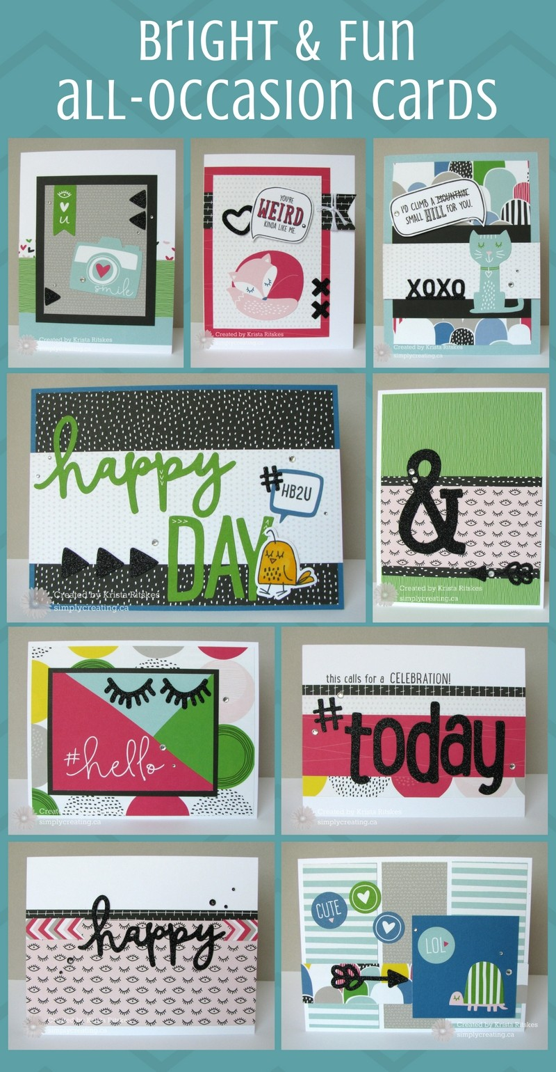 9 Bright & Fun Cards You Can Make In a Snap
