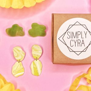 Statement Earrings Stud Pack by Simply Cyra