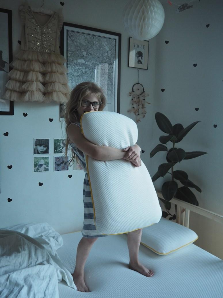 Tween room make-over and Eve mattress