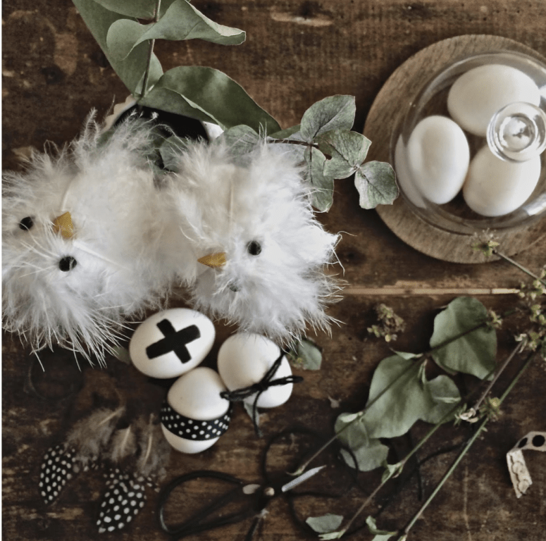 Easter Flatlay tutorial