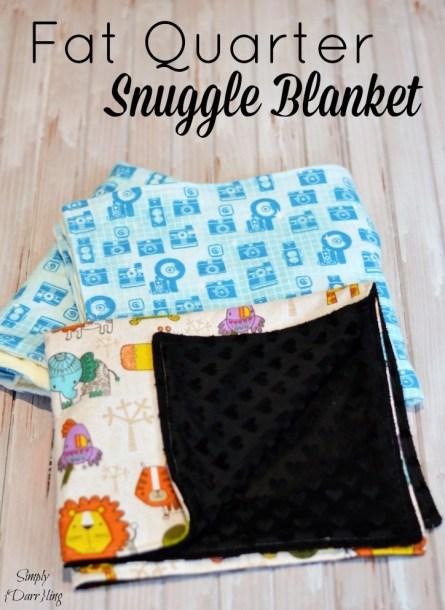 Fat Quarter Snuggle Blanket