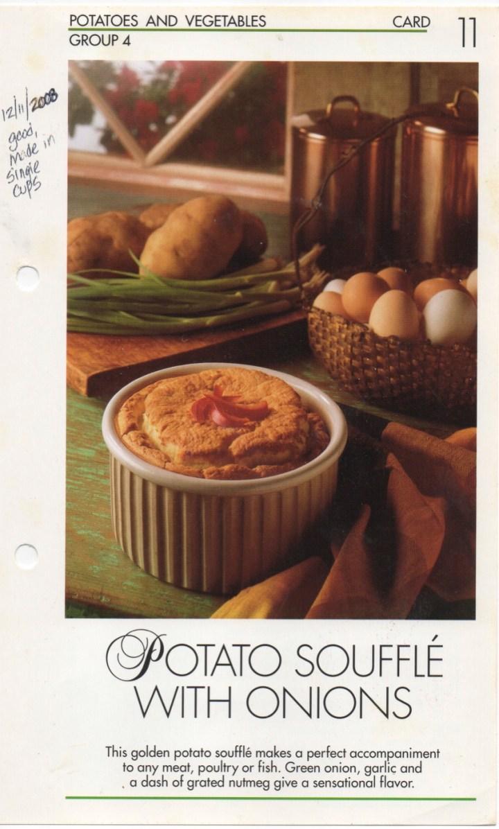 4-11 Potato Souffle with Onions