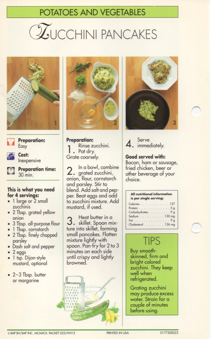 4-22 Zucchini Pancakes1