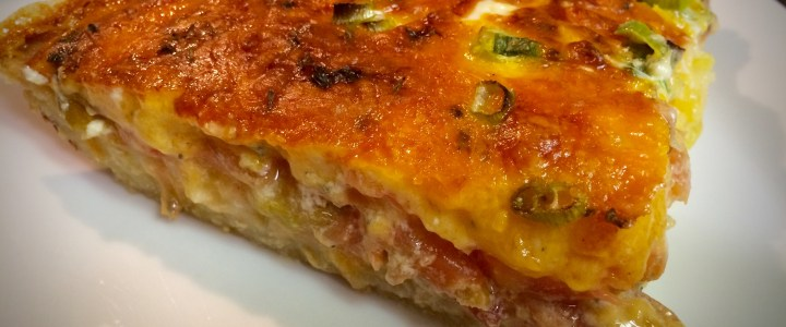 5-23: Cheese Pie with Tomatoes